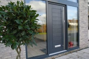 Composite Doors with a bush