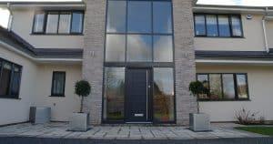 Composite Front Doors with Aluminium Windows