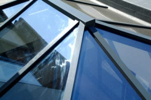 close up of roof lanterns