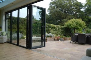 innovative aluminium bi-fold doors