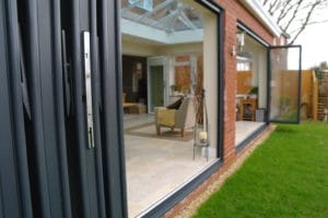energy saving bi-fold doors