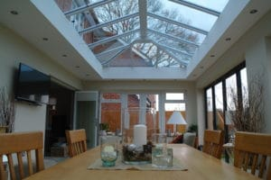 picture of a conservatory from the table