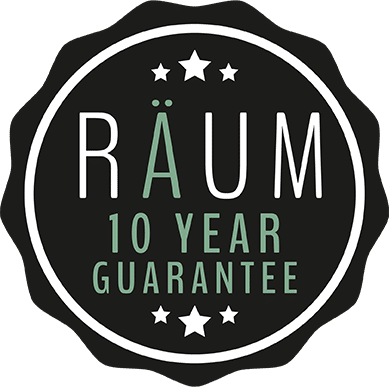 RAUM 10 Year Guarantee