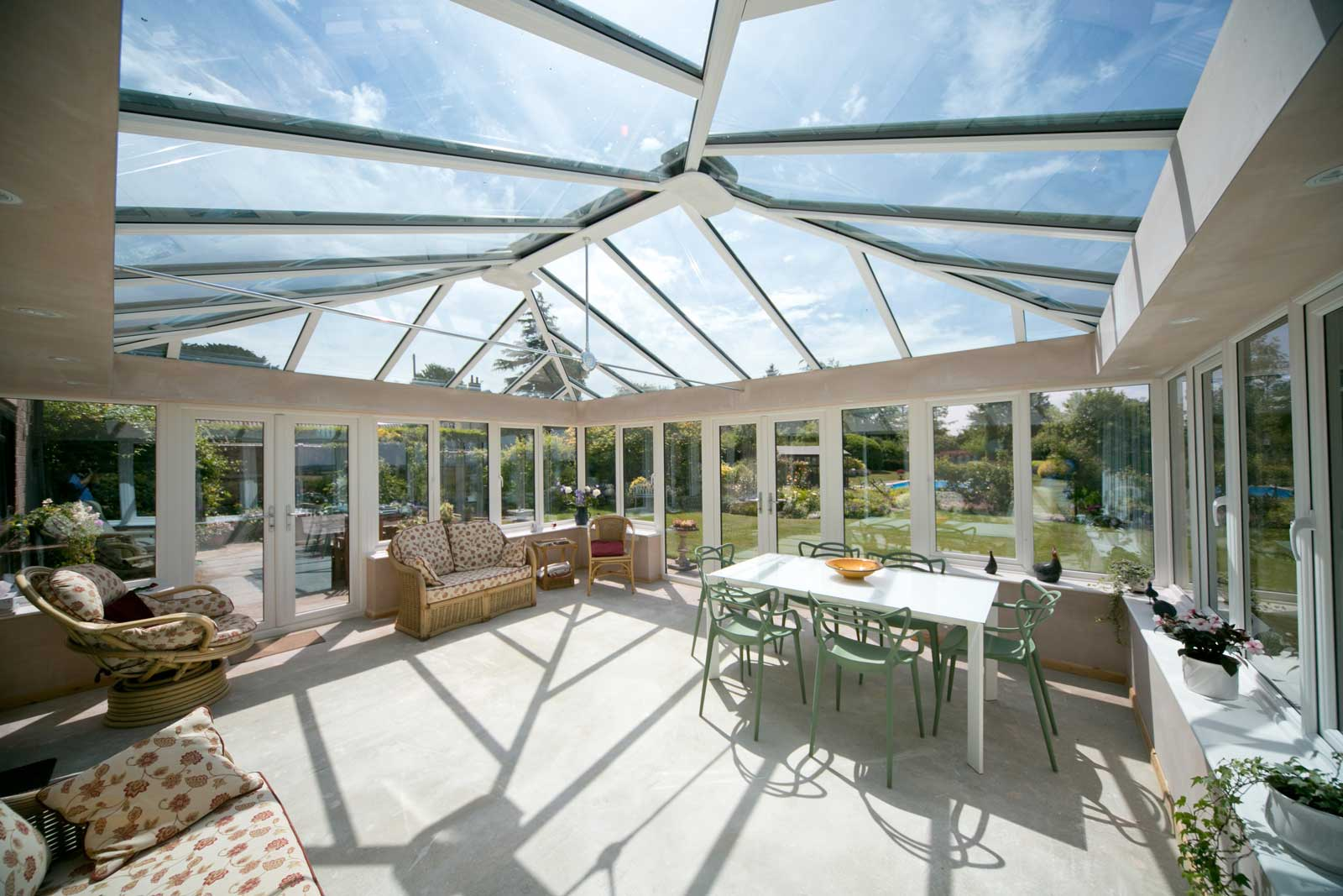 Double Glazing conservatory extension
